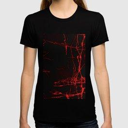 Horror -Dark Red- T-shirt