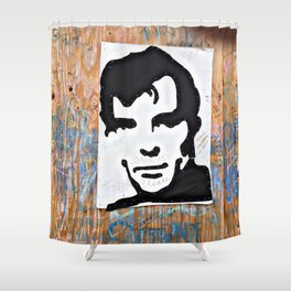 """HERE'S TO THE CRAZY ONES""/Jack Kerouac Shower Curtain"