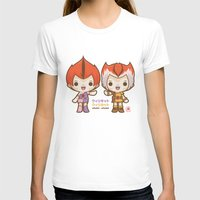 thundercats T-shirts featuring Willykit & Willykat - 2 by Azul Piñeiro
