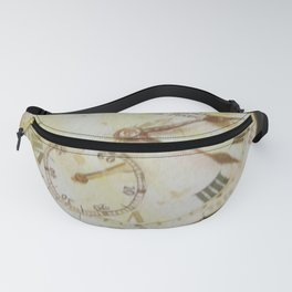 A step in time Fanny Pack