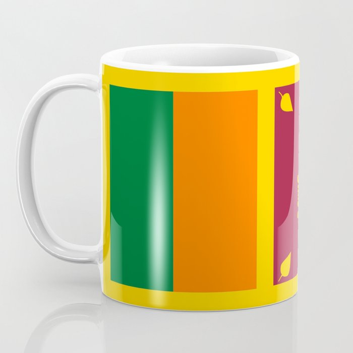 Flag Sri pali Coffee hindouist sinhaleseTamil Of tea Ceylon indiaAsia buddhist Lanka colombo Mug moratuwa dCxrBeo