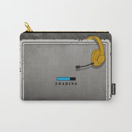 Wanted Gamer Poster Loading Carry-All Pouch