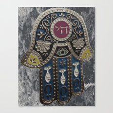 Jewish Hamsa Canvas Print