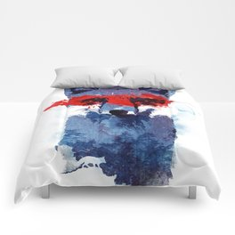The last superhero Comforters