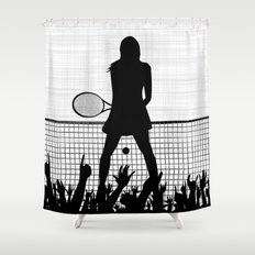 Tennis Ace Shower Curtain