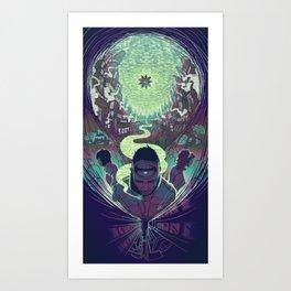Neuromancer : Case Art Print