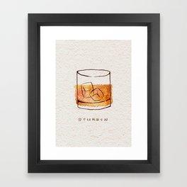 Bourbon Framed Art Print
