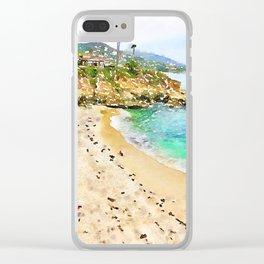 Laguna Beach Coast Clear iPhone Case
