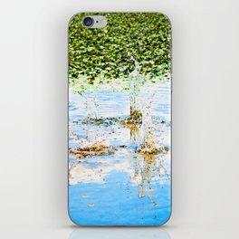 Splash the Clouds iPhone Skin