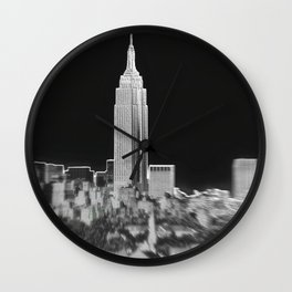 Lets Visit The Empire State Building Wall Clock