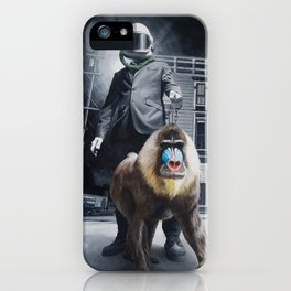 Civilized Society iPhone Case