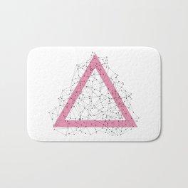 Triangle dots Bath Mat