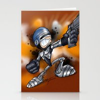robocop Stationery Cards featuring Robocop by alexviveros.net