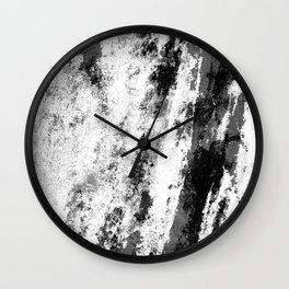 Perseverance Black & White Wall Clock