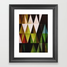 green yyyr Framed Art Print