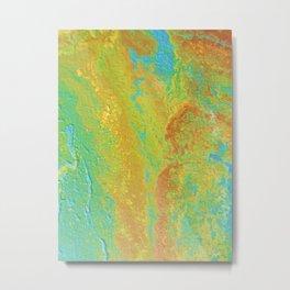 Canvas Catastrophe 2 Metal Print