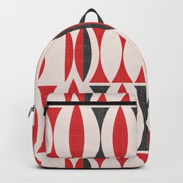 Seventies in Cherry Red Backpack