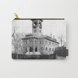 St. Ursula Hall, Ursuline Convent, New Orleans 1900 Carry-All Pouch