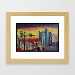 Busan, South Korea Framed Art Print