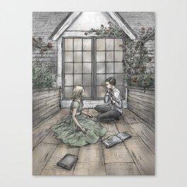 Kay and Gerda Canvas Print