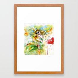 Daisy Lover Framed Art Print