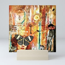 Patiently Waiting for you to Take Notice of my Advances Mini Art Print