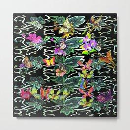 Butterfly Vine Metal Print