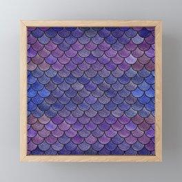 Lovely Pattern III(Glitter Version) Framed Mini Art Print