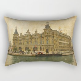 Haydarpasa Railway Station Rectangular Pillow