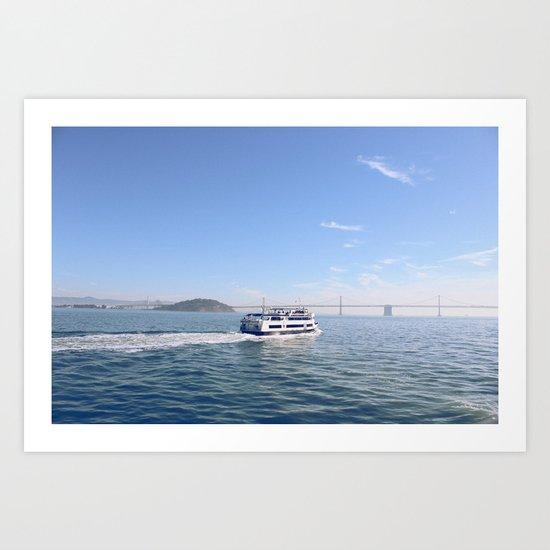 San Francisco. Winter 2013. Art Print