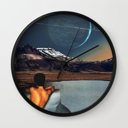 Better Off Alone Wall Clock