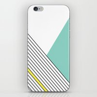 minimal iPhone & iPod Skins featuring MINIMAL COMPLEXITY by .eg.