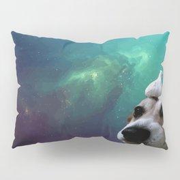Dog, Garlic & Space Pillow Sham