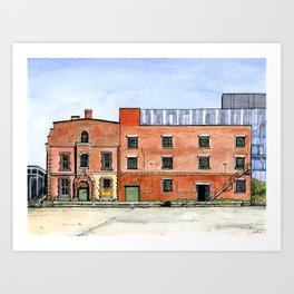 Cherry Street Hotel Art Print