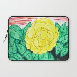 Sunset Rose Watercolor Laptop Sleeve