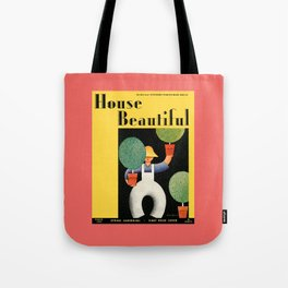 House Beautiful March 1932 Tote Bag