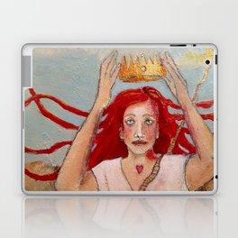 Crowning Herself Laptop & iPad Skin