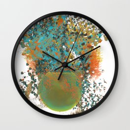 Happy Plant Wall Clock