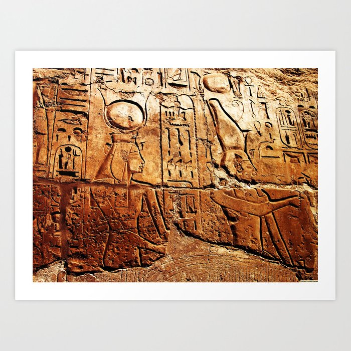 """""""A Story In Egypt"""" Art Print"""