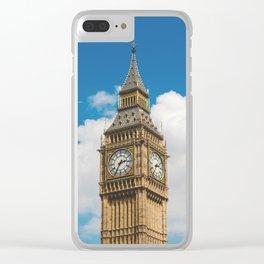 LONDON CITY BIG BEN XXI Clear iPhone Case