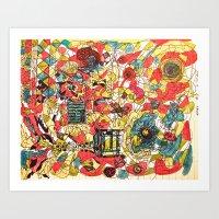 Edgy #2 Art Print