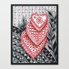 Sweet Hearts Canvas Print