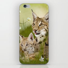 BOBCATS iPhone Skin
