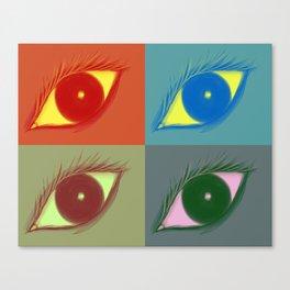 Eye See You III Canvas Print