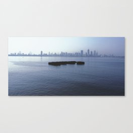 Middle of Water Canvas Print