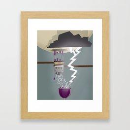 Wine Maker Framed Art Print
