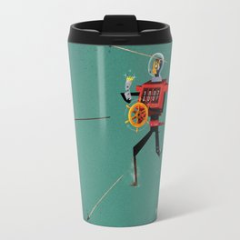 The Time Travelling Pirate Travel Mug