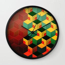 tomioka giyuu pattern Wall Clock