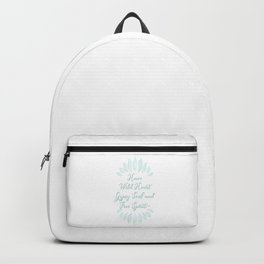 Gypsy Soul Heart Adventure Travel Tshirt Have wild heart Backpack