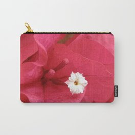 TEXTURES - Bougainvillea Carry-All Pouch